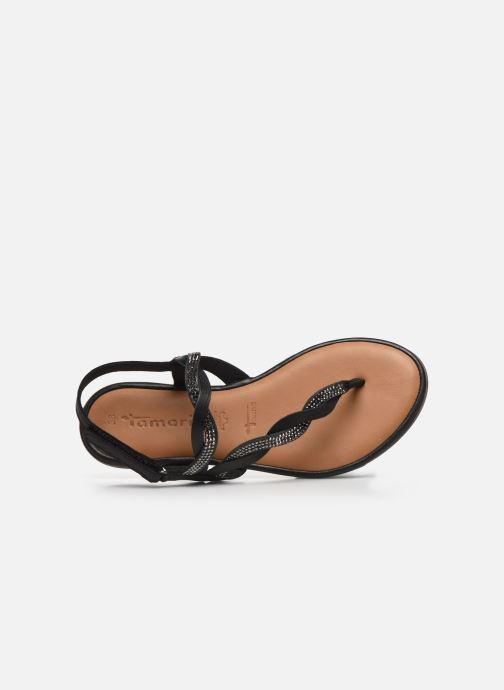 Sandales et nu-pieds Tamaris MANAO Noir vue gauche