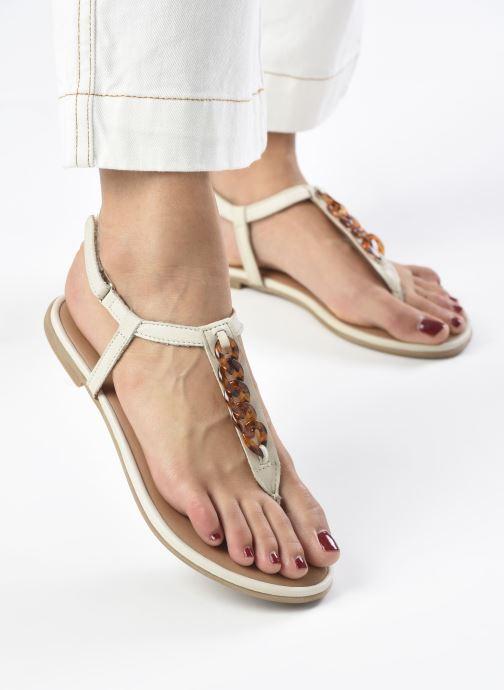 Sandali e scarpe aperte Tamaris VIKY Bianco immagine dal basso