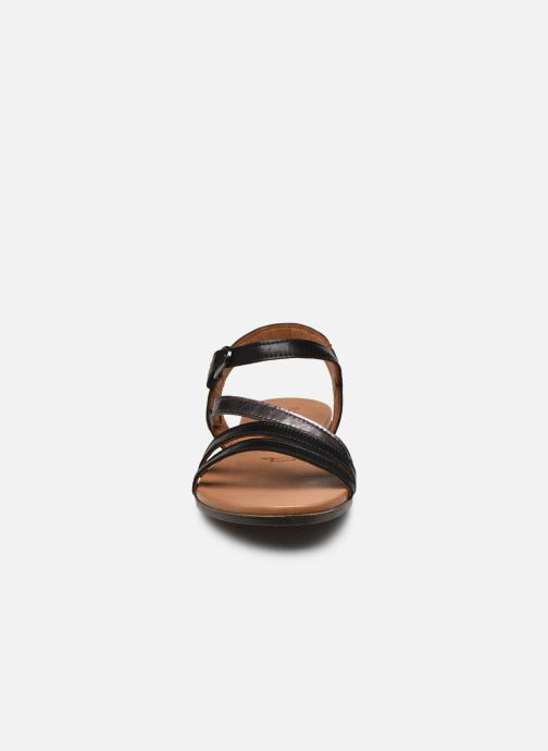 Sandales et nu-pieds Tamaris VINA Noir vue portées chaussures
