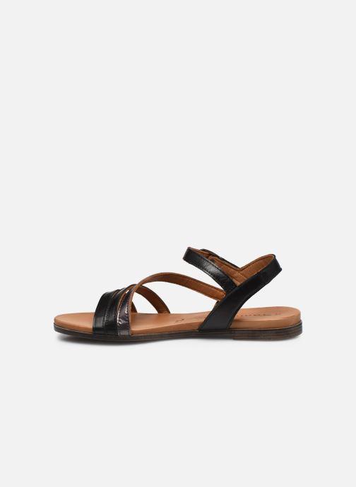 Sandales et nu-pieds Tamaris VINA Noir vue face
