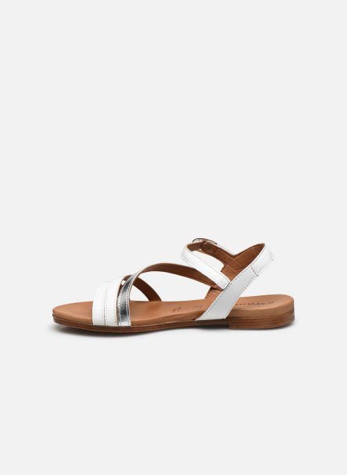 Sandales et nu-pieds Tamaris VINA Blanc vue face