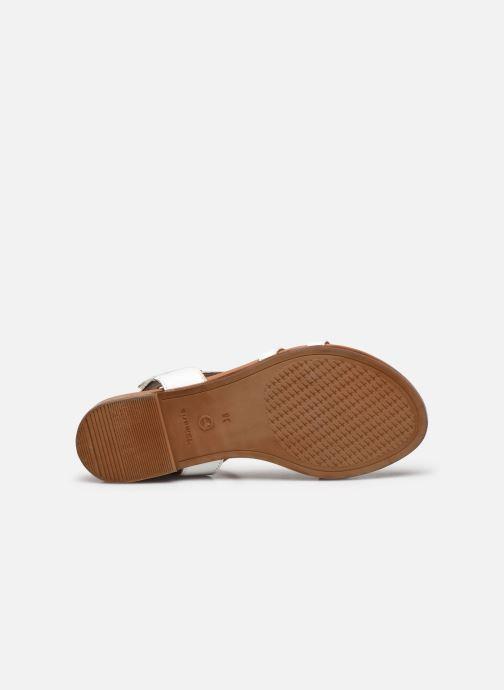 Sandales et nu-pieds Tamaris VINA Blanc vue haut