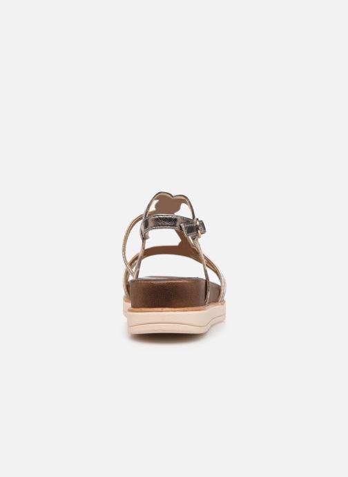 Sandales et nu-pieds Tamaris KAY Argent vue droite