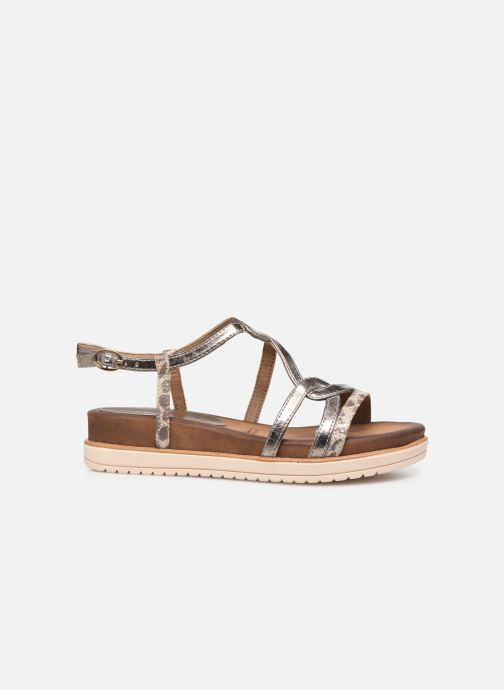 Sandales et nu-pieds Tamaris KAY Argent vue derrière