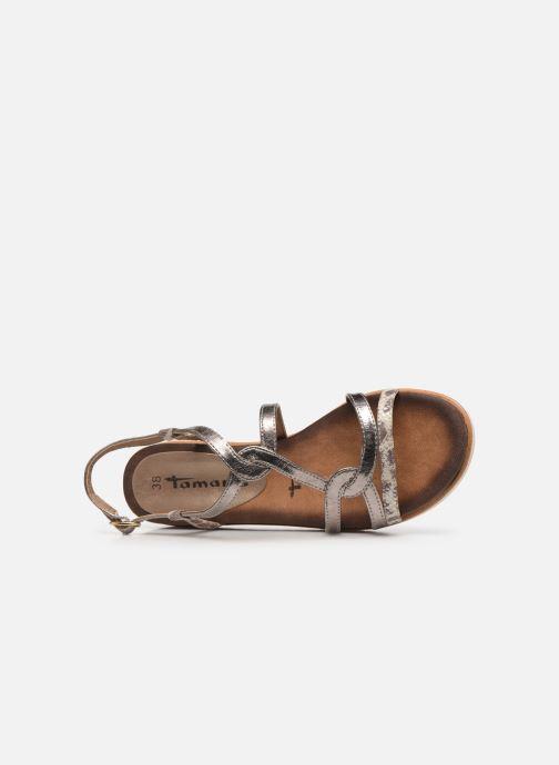 Sandales et nu-pieds Tamaris KAY Argent vue gauche
