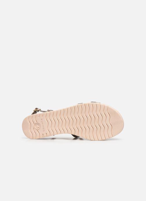 Sandales et nu-pieds Tamaris KAY Argent vue haut