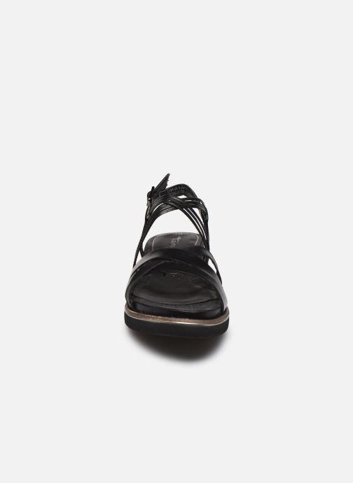 Sandales et nu-pieds Tamaris KALIA Noir vue portées chaussures