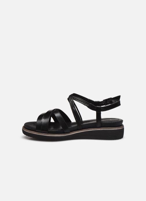 Sandales et nu-pieds Tamaris KALIA Noir vue face