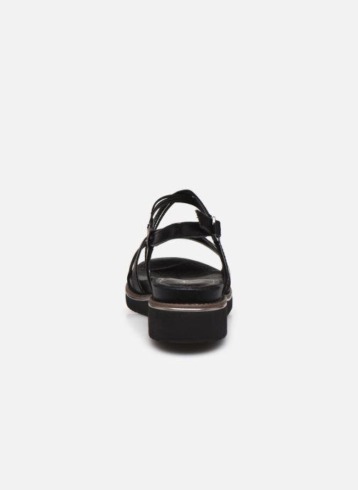 Sandales et nu-pieds Tamaris KALIA Noir vue droite