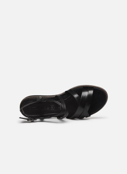 Sandales et nu-pieds Tamaris KALIA Noir vue gauche