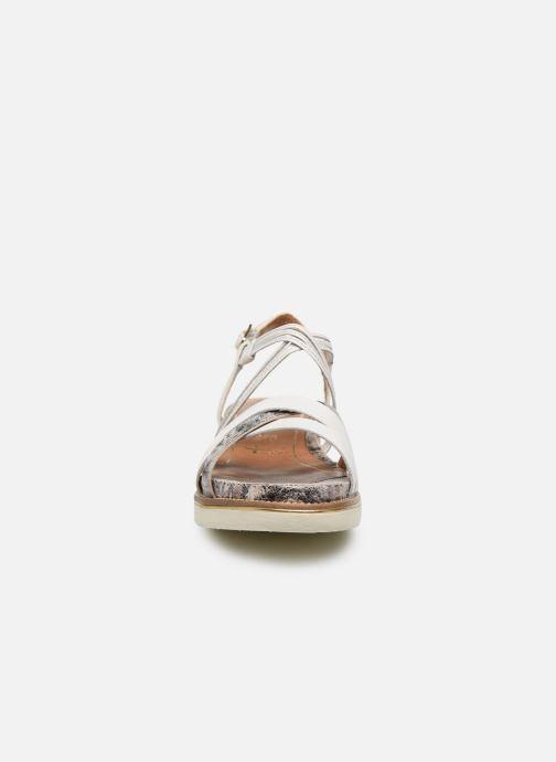 Sandales et nu-pieds Tamaris KALIA Blanc vue portées chaussures