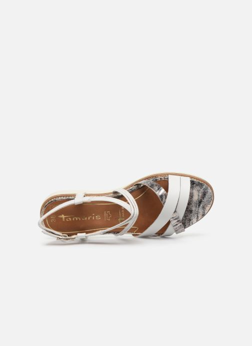 Sandales et nu-pieds Tamaris KALIA Blanc vue gauche