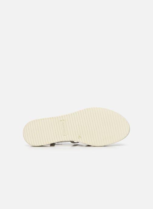 Sandales et nu-pieds Tamaris KALIA Blanc vue haut