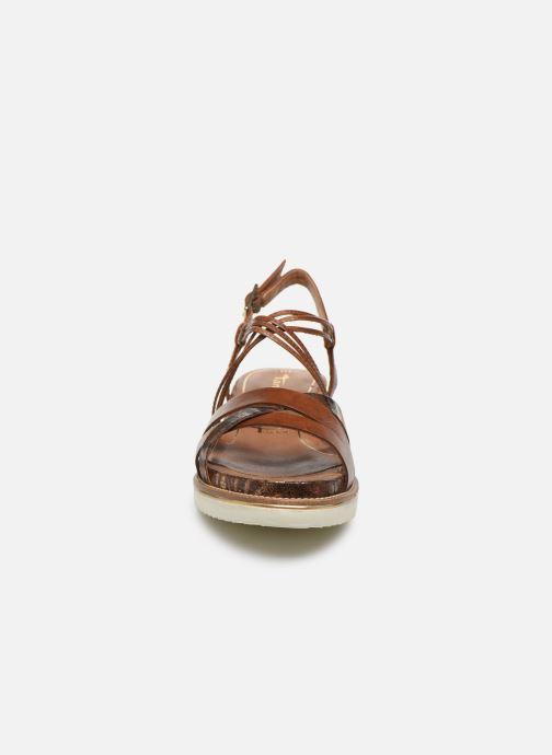 Sandales et nu-pieds Tamaris KALIA Marron vue portées chaussures