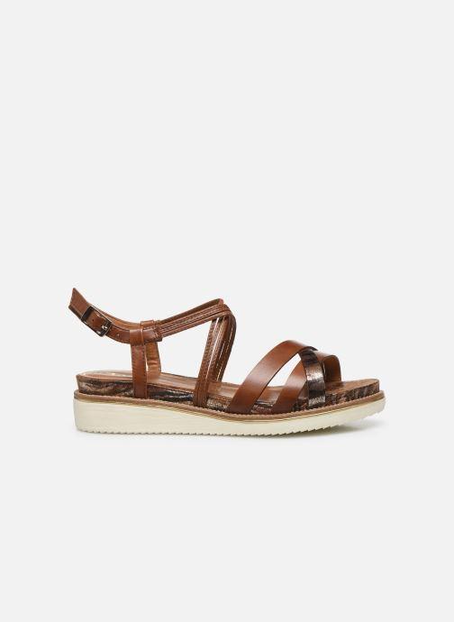 Sandales et nu-pieds Tamaris KALIA Marron vue derrière