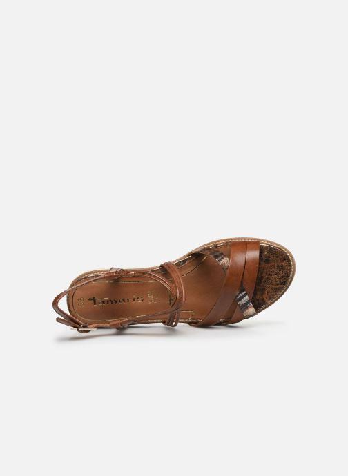Sandales et nu-pieds Tamaris KALIA Marron vue gauche