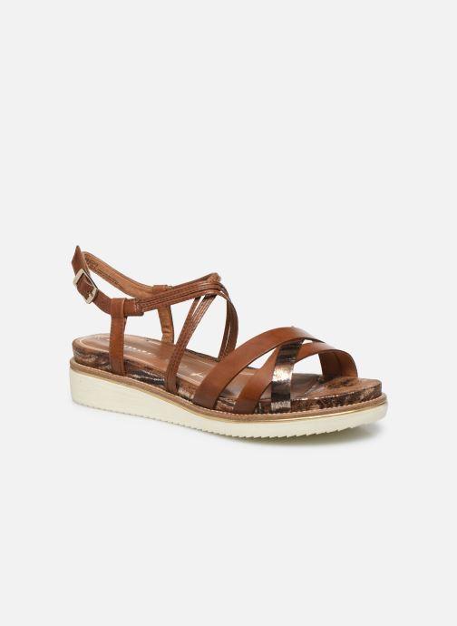 Sandales et nu-pieds Tamaris KALIA Marron vue détail/paire