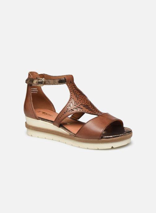 Sandales et nu-pieds Tamaris ZANA Marron vue détail/paire