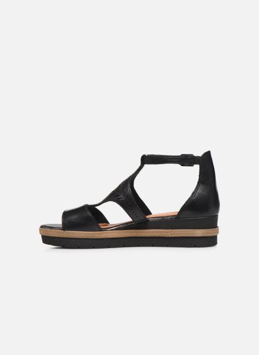 Sandales et nu-pieds Tamaris ZANA Noir vue face