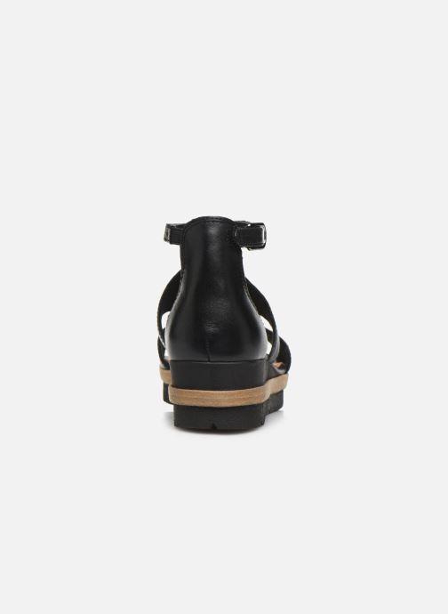 Sandales et nu-pieds Tamaris ZANA Noir vue droite