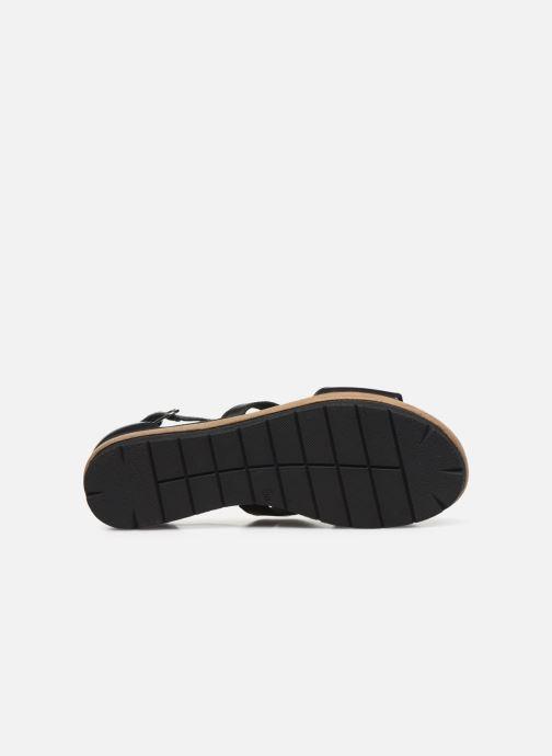 Sandales et nu-pieds Tamaris ZANA Noir vue haut