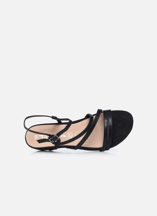 Sandales et nu-pieds Tamaris DELIAM Noir vue gauche