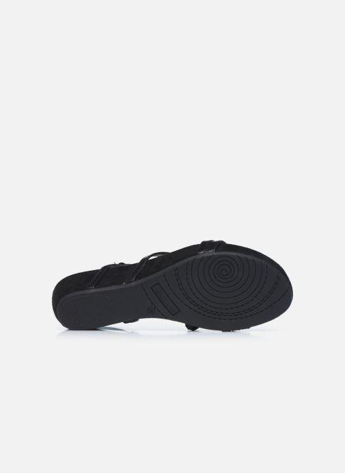 Sandales et nu-pieds Tamaris DELIAM Noir vue haut