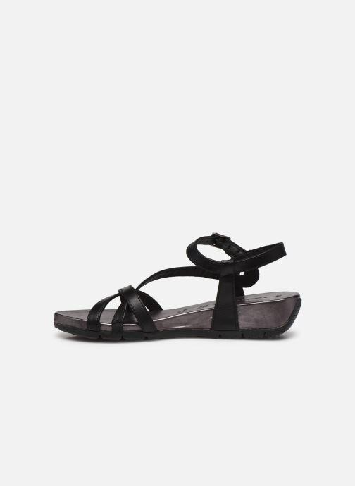 Sandales et nu-pieds Tamaris ABY Noir vue face