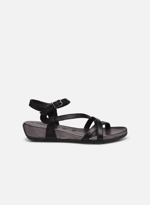 Sandales et nu-pieds Tamaris ABY Noir vue derrière