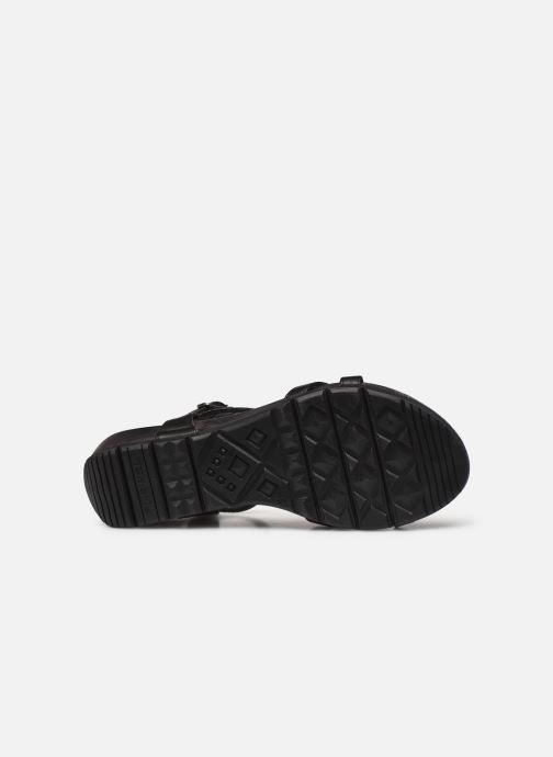 Sandales et nu-pieds Tamaris ABY Noir vue haut