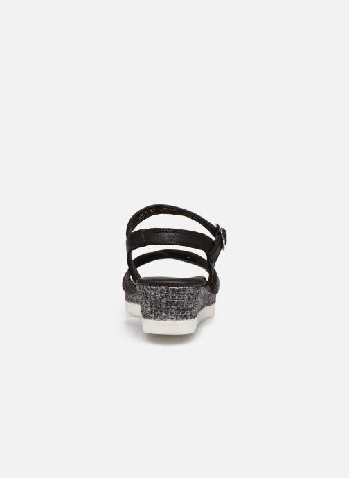 Sandales et nu-pieds Tamaris ALBAM Noir vue droite