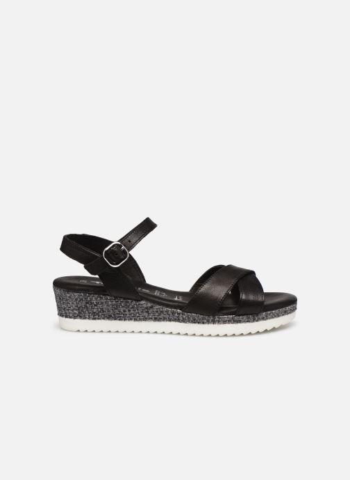 Sandales et nu-pieds Tamaris ALBAM Noir vue derrière