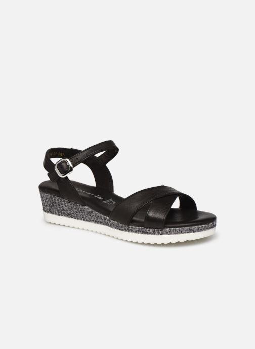 Sandales et nu-pieds Tamaris ALBAM Noir vue détail/paire