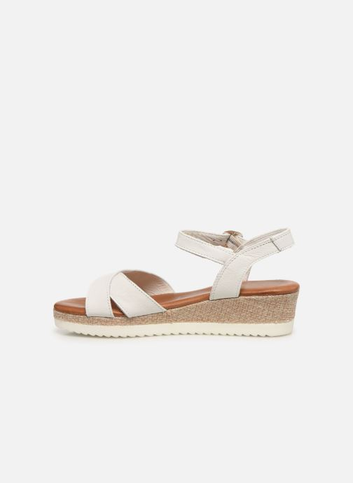 Sandales et nu-pieds Tamaris ALBAM Blanc vue face