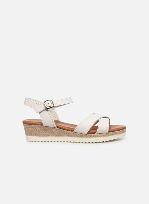 Sandales et nu-pieds Tamaris ALBAM Blanc vue derrière