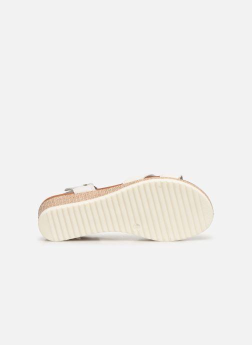 Sandales et nu-pieds Tamaris ALBAM Blanc vue haut