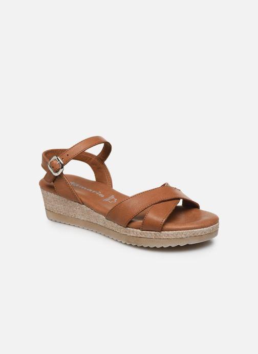 Tamaris ALBAM (Marron) Sandales et nu pieds chez Sarenza