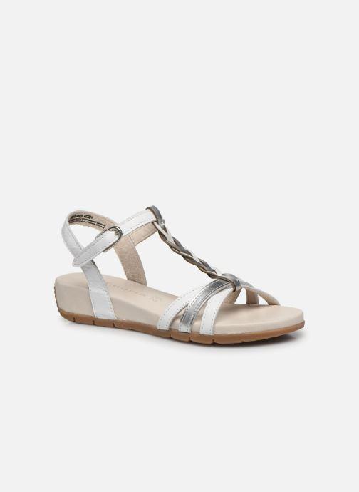 Sandales et nu-pieds Tamaris ZEVA Blanc vue détail/paire