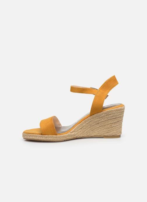 Sandales et nu-pieds Tamaris PELPA Jaune vue face