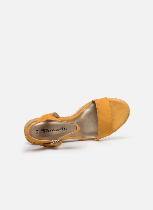 Sandales et nu-pieds Tamaris PELPA Jaune vue gauche
