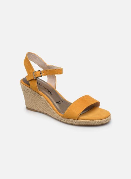Sandales et nu-pieds Tamaris PELPA Jaune vue détail/paire