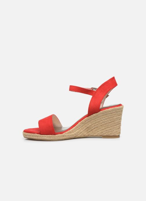 Sandales et nu-pieds Tamaris PELPA Rouge vue face