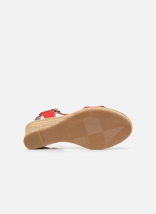 Sandales et nu-pieds Tamaris PELPA Rouge vue haut