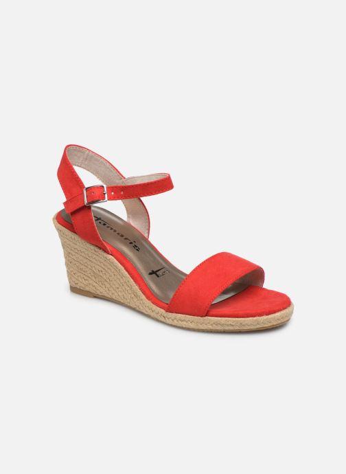 Sandales et nu-pieds Tamaris PELPA Rouge vue détail/paire