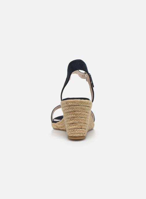 Sandales et nu-pieds Tamaris PELPA Bleu vue droite