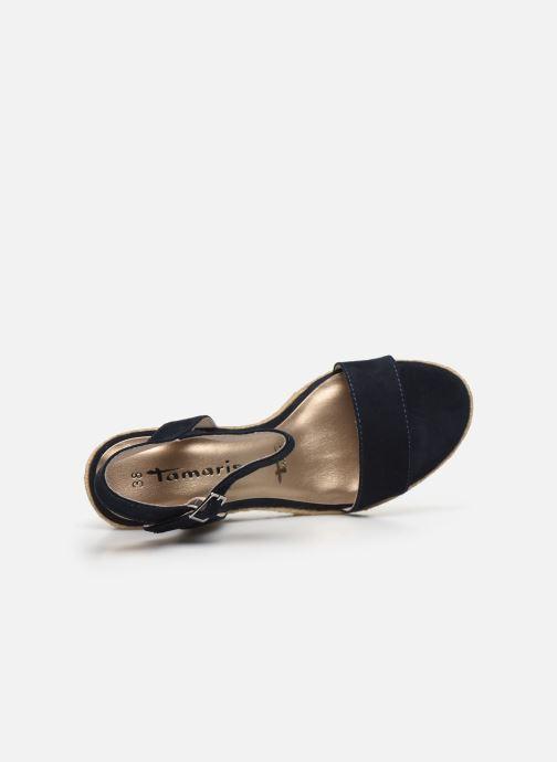 Sandales et nu-pieds Tamaris PELPA Bleu vue gauche