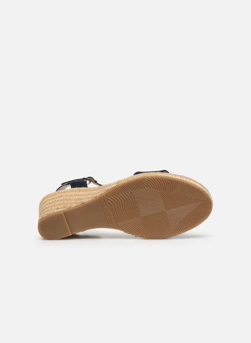 Sandales et nu-pieds Tamaris PELPA Bleu vue haut