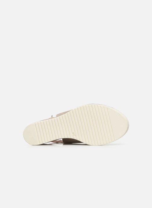 Sandales et nu-pieds Tamaris MAMO Or et bronze vue haut