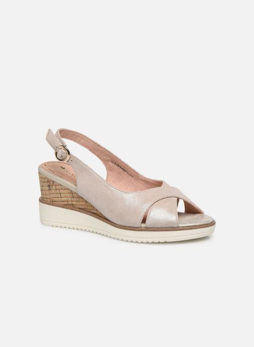 Sandales et nu-pieds Tamaris MAMO Or et bronze vue détail/paire