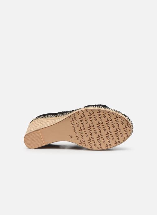 Sandali e scarpe aperte Tamaris ACACIE Nero immagine dall'alto